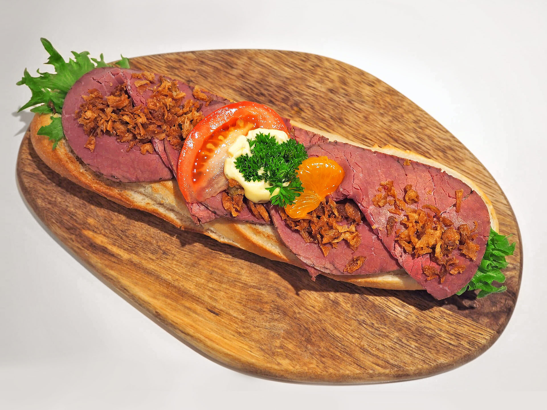 Baguetter - Roastbiff/italiensksalat